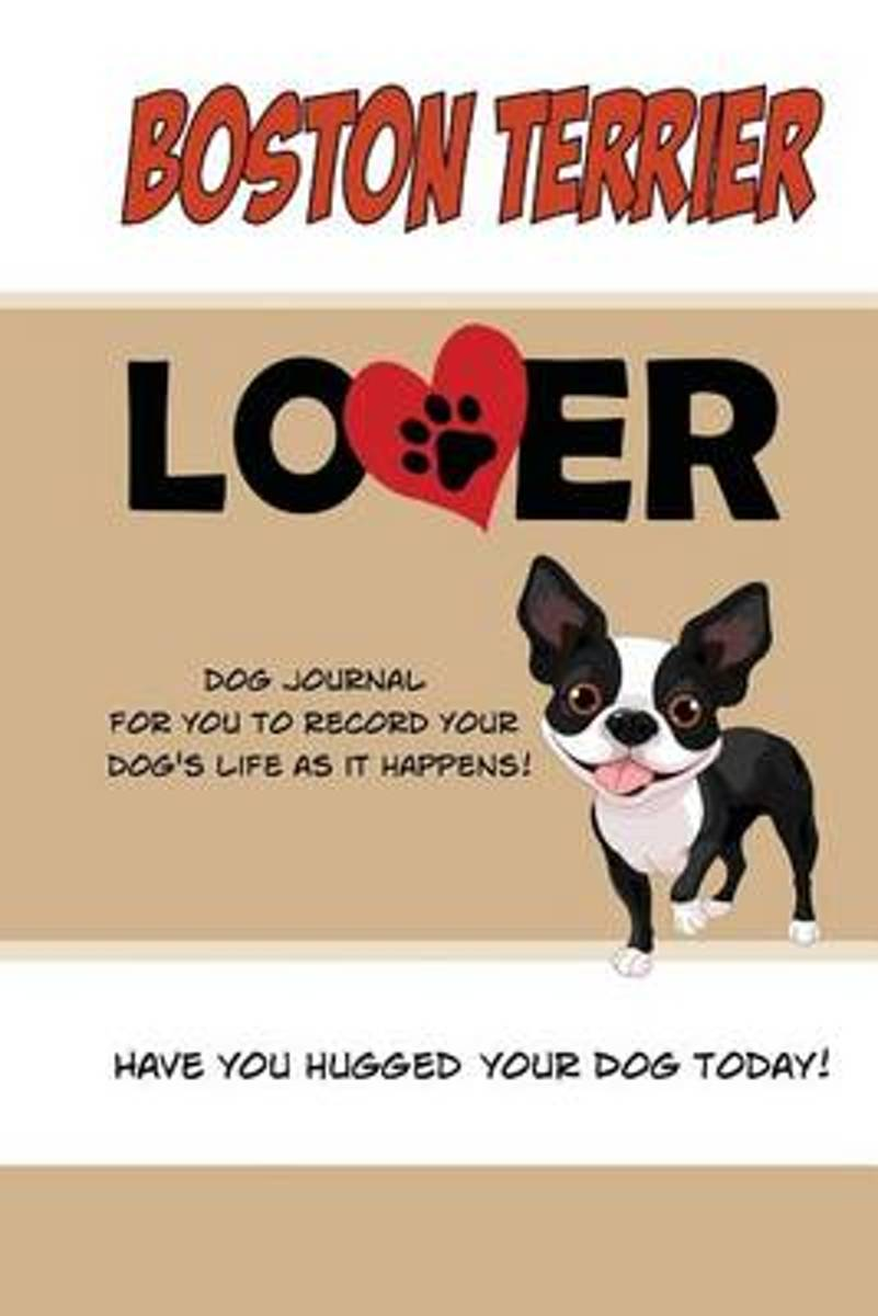 Boston Terrier Lover Dog Journal