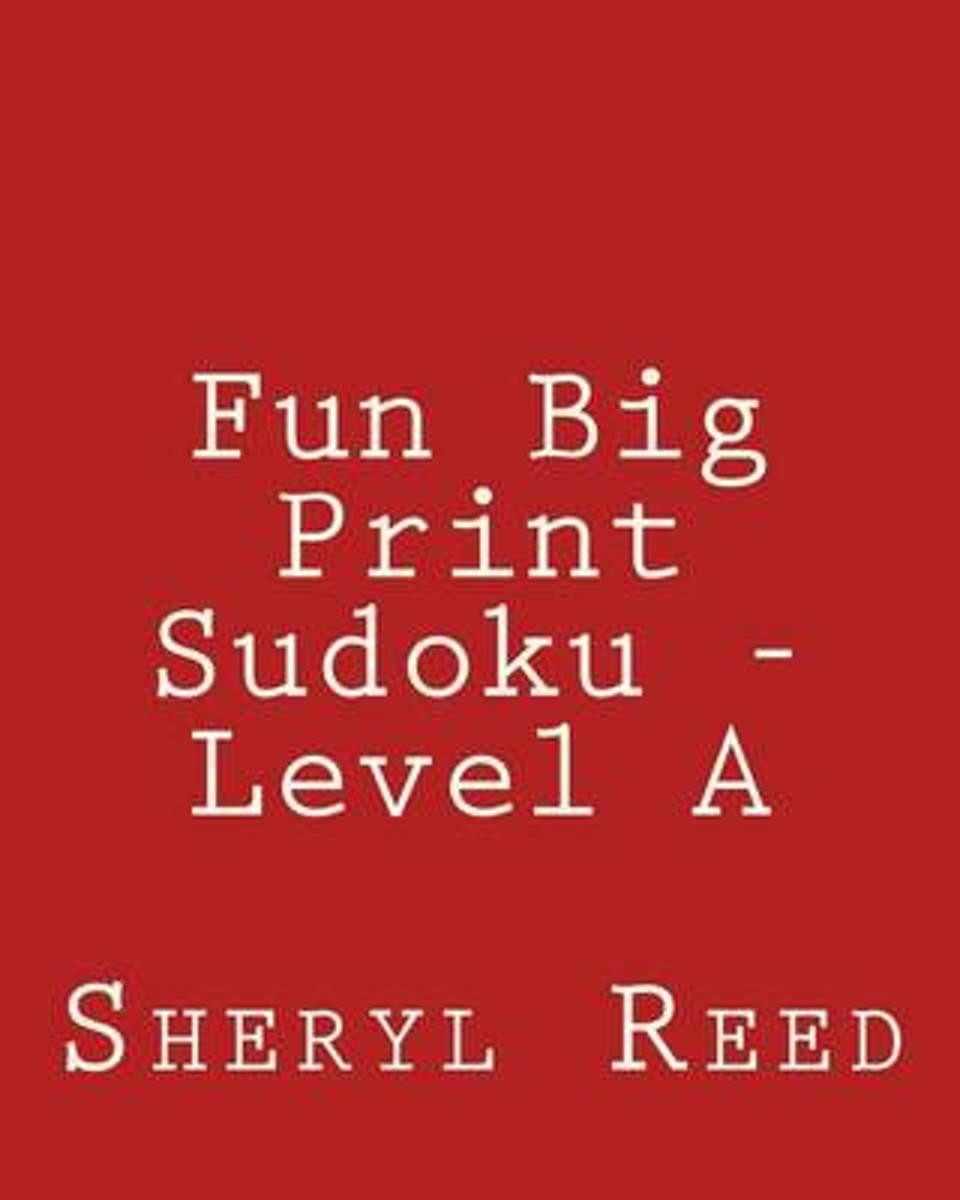 Fun Big Print Sudoku - Level a
