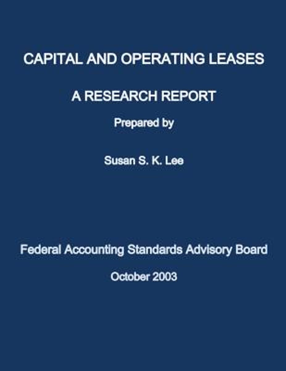 Capital and Operating Lease
