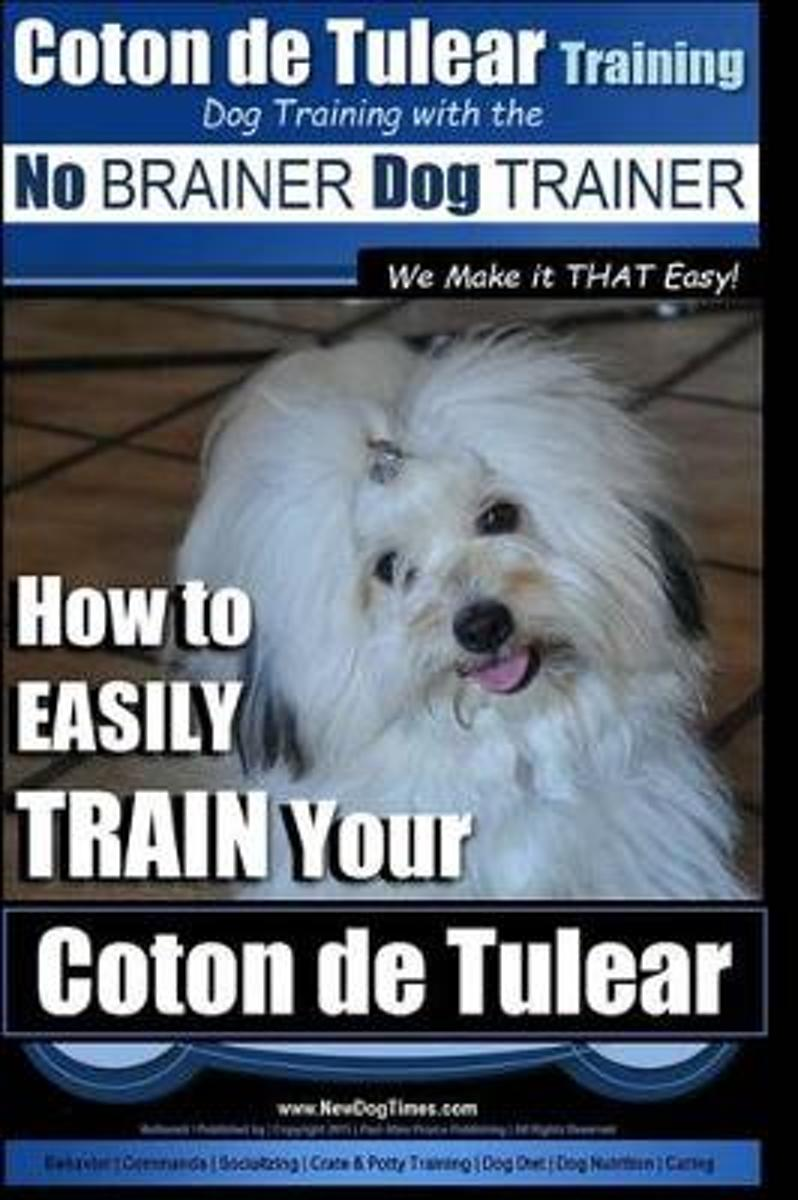 Coton de Tulear Training Dog Training with the No Brainer Dog Trainer