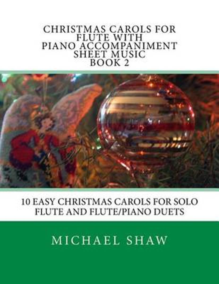 Christmas Carols for Flute with Piano Accompaniment Sheet Music Book 2