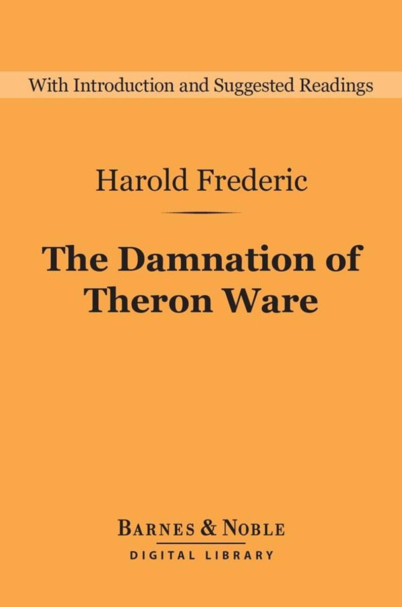 Damnation of Theron Ware (Barnes & Noble Digital Library)