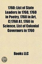 1760: List Of State Leaders In 1760, 1760 In Poetry, 1760 In Art, C-1760 A1, 1760 In Science, List Of Colonial Governors In