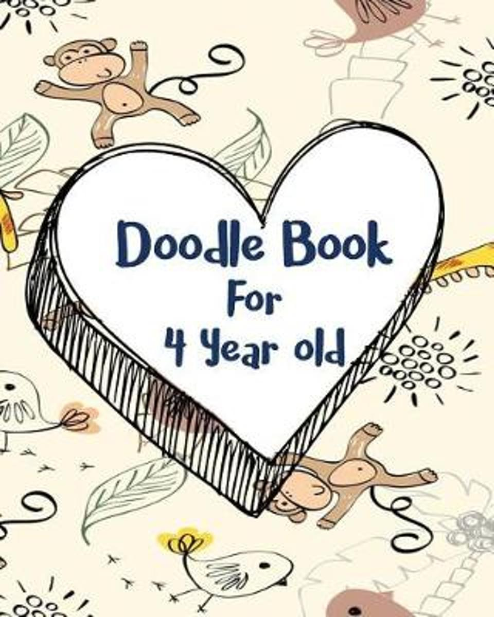 Doodle Book for 4 Year Old