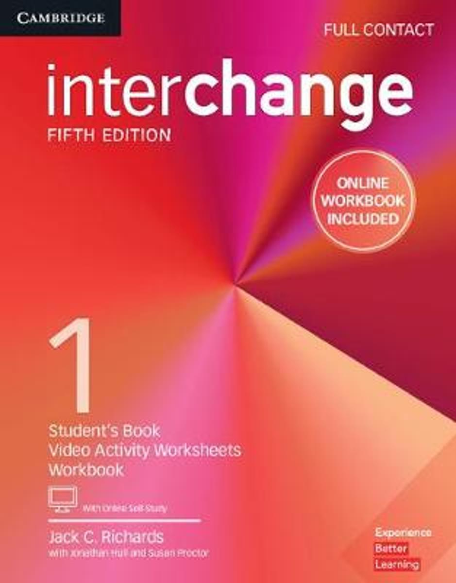 Interchange Level 1 Full Contact with Online Self-Study and Online Workbook