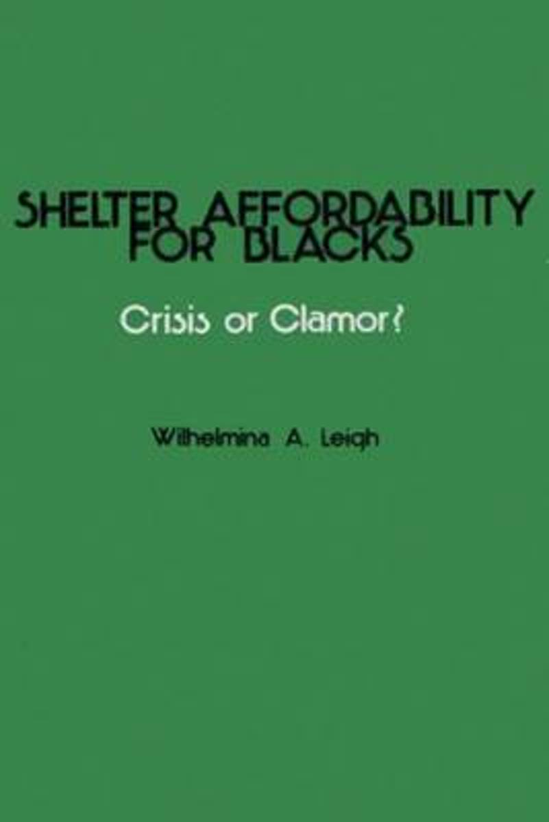 Shelter Affordability for Blacks
