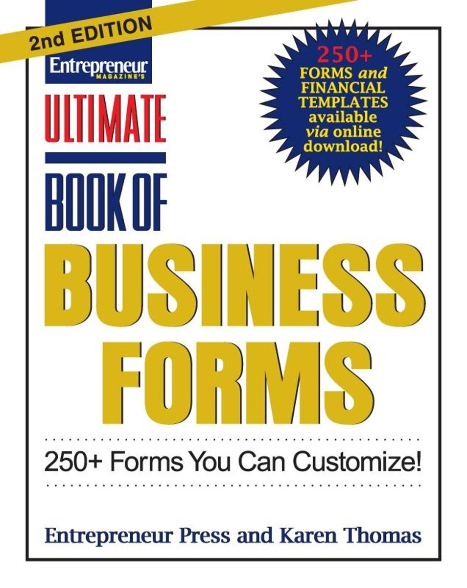 Ultimate Book of Business Forms