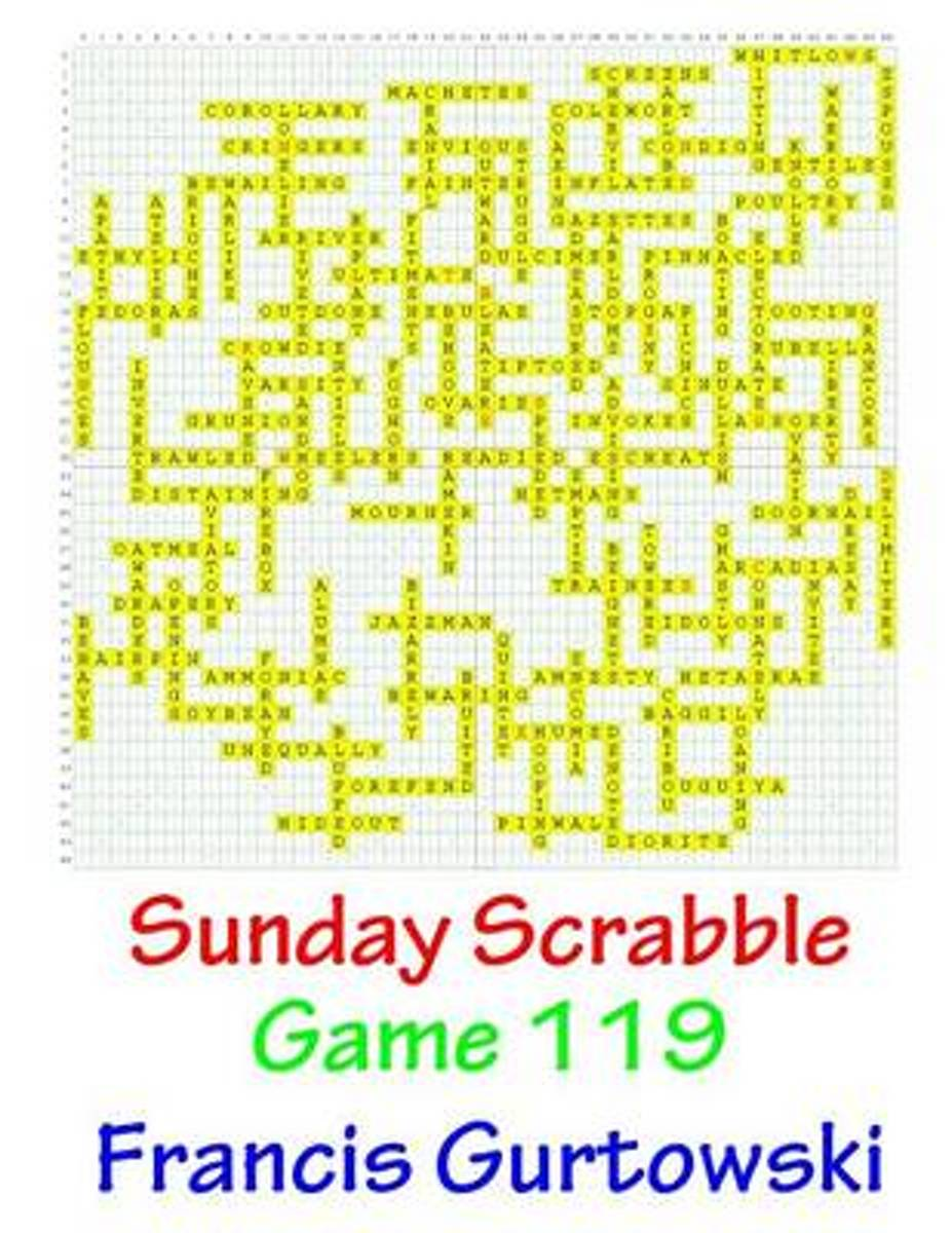 Sunday Scrabble Game 119