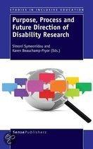 Researching disability: purpose, process and future directions