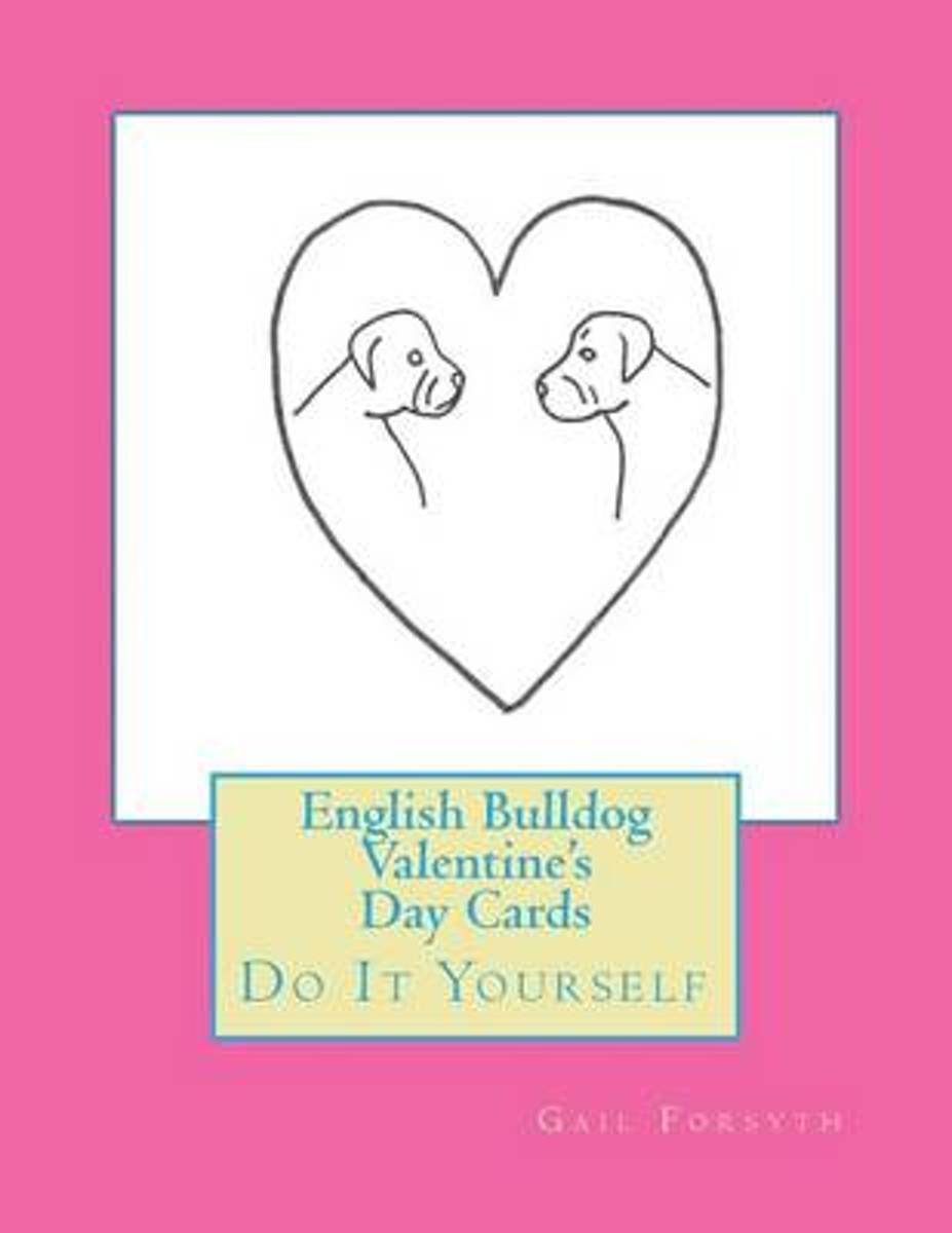 English Bulldog Valentine's Day Cards