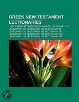 Greek New Testament lectionaries