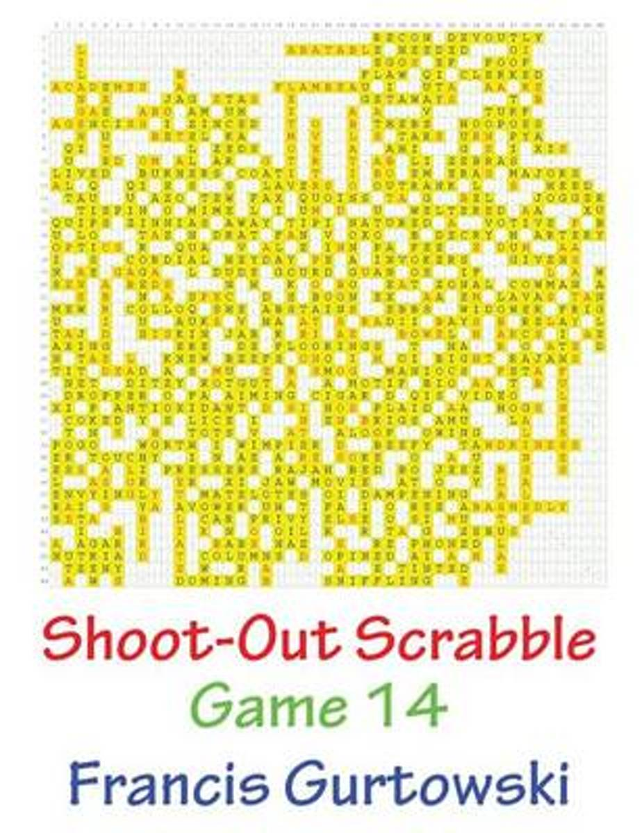 Shoot-Out Scrabble Game 14