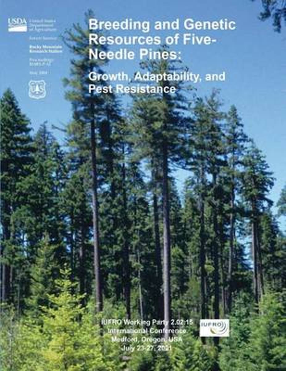 Breeding and Genetic Resources of Five Needle Pines