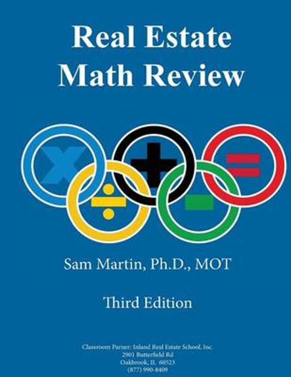 Real Estate Math Review, Third Edition