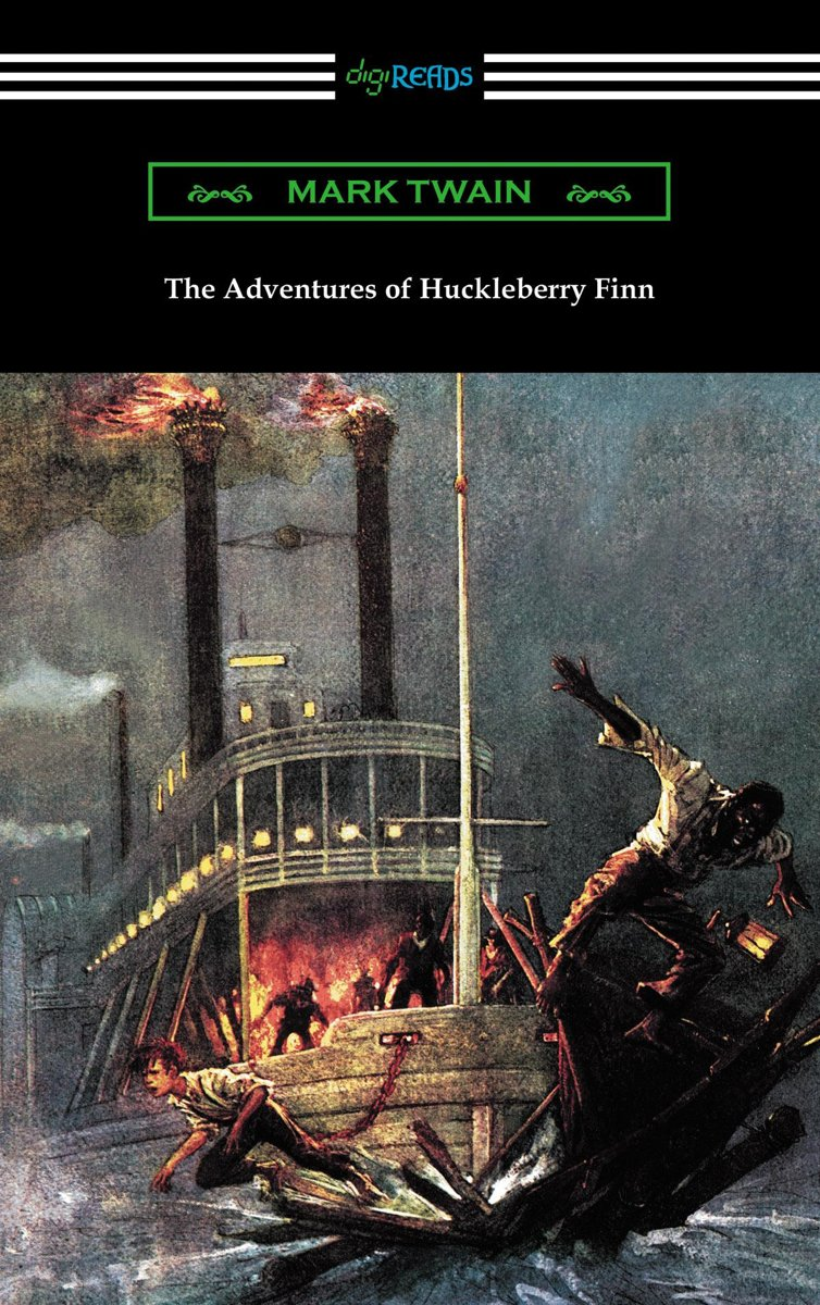 The Adventures of Huckleberry Finn (with an Introduction by Brander Matthews)