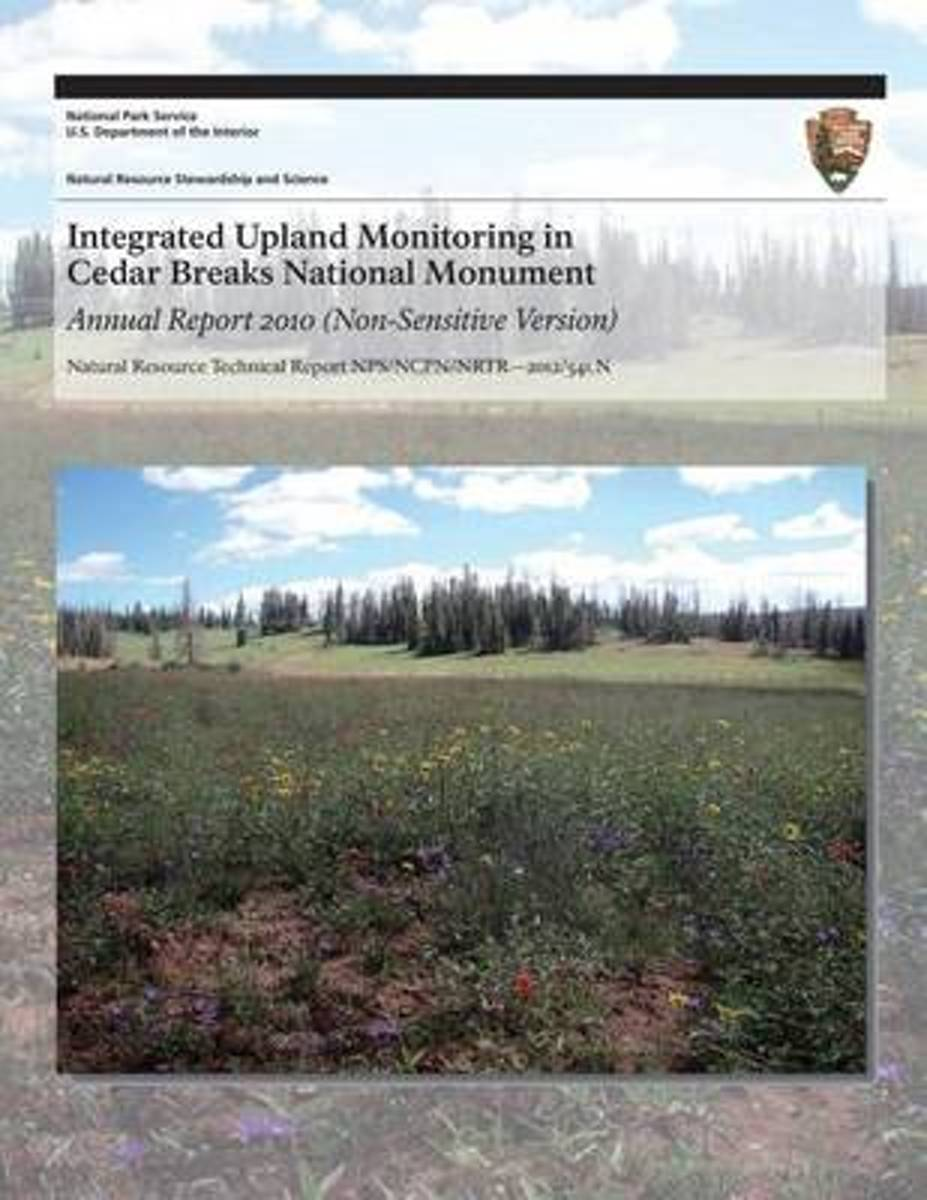 Integrated Upland Monitoring in Cedar Breaks National Monument