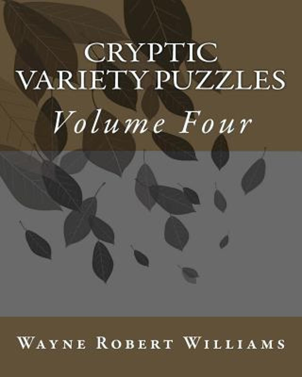 Cryptic Variety Puzzles Volume 4