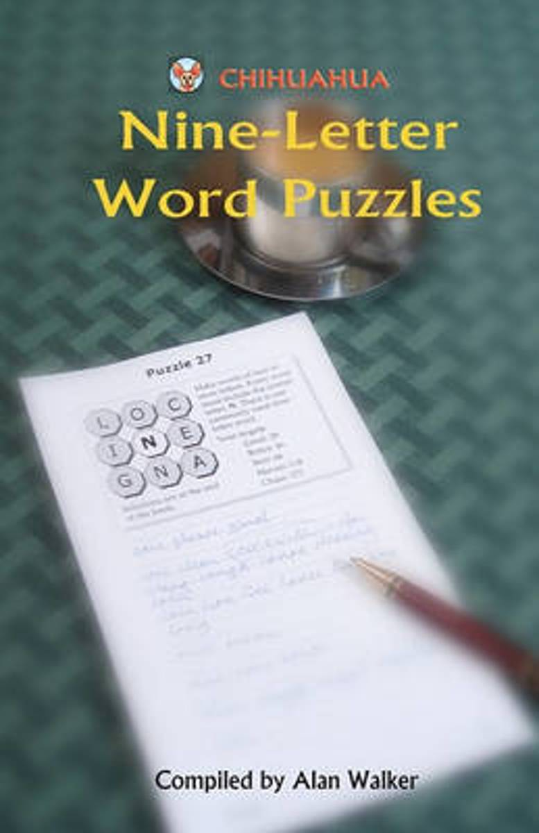 Chihuahua Nine-Letter Word Puzzles