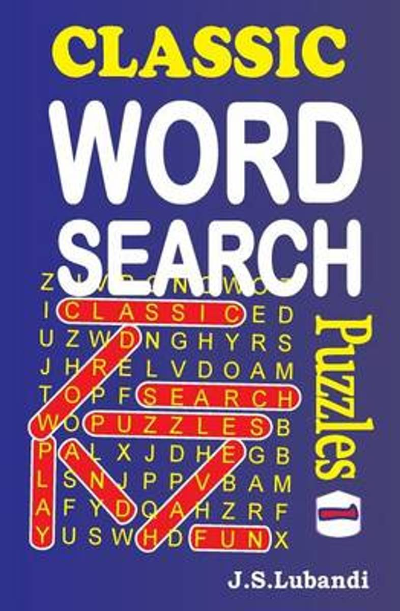 Classic Word Search Puzzles