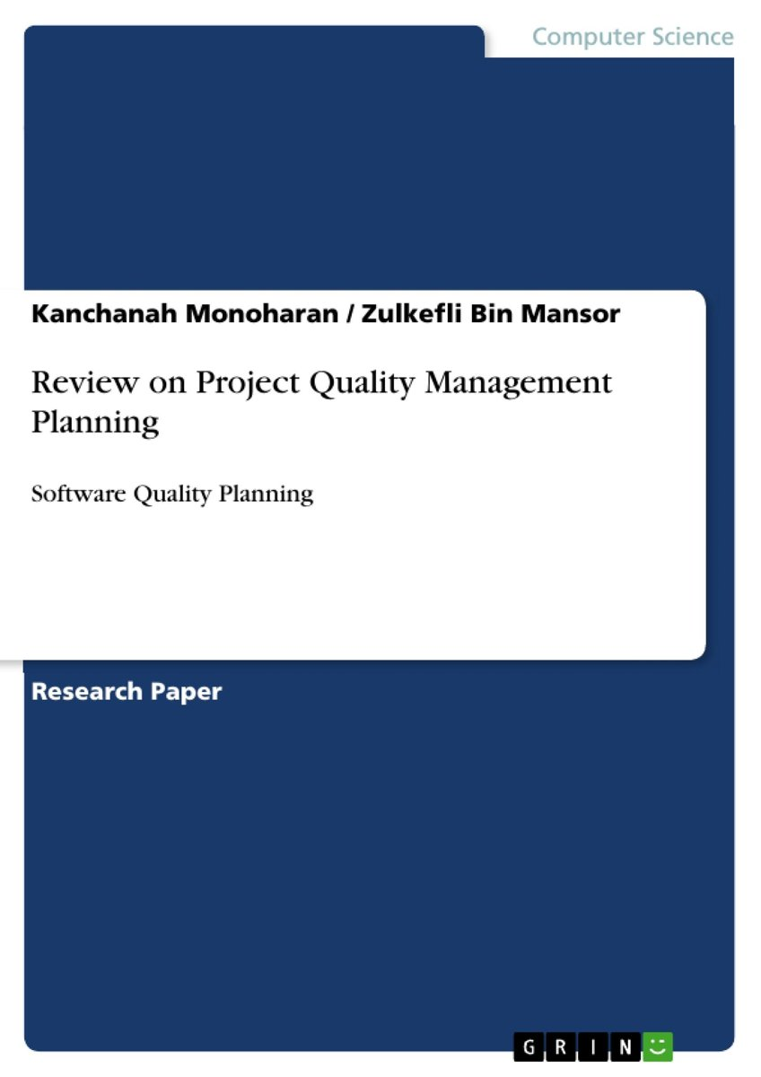 Review on Project Quality Management Planning