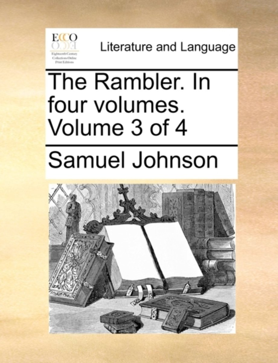 The Rambler. in Four Volumes. Volume 3 of 4