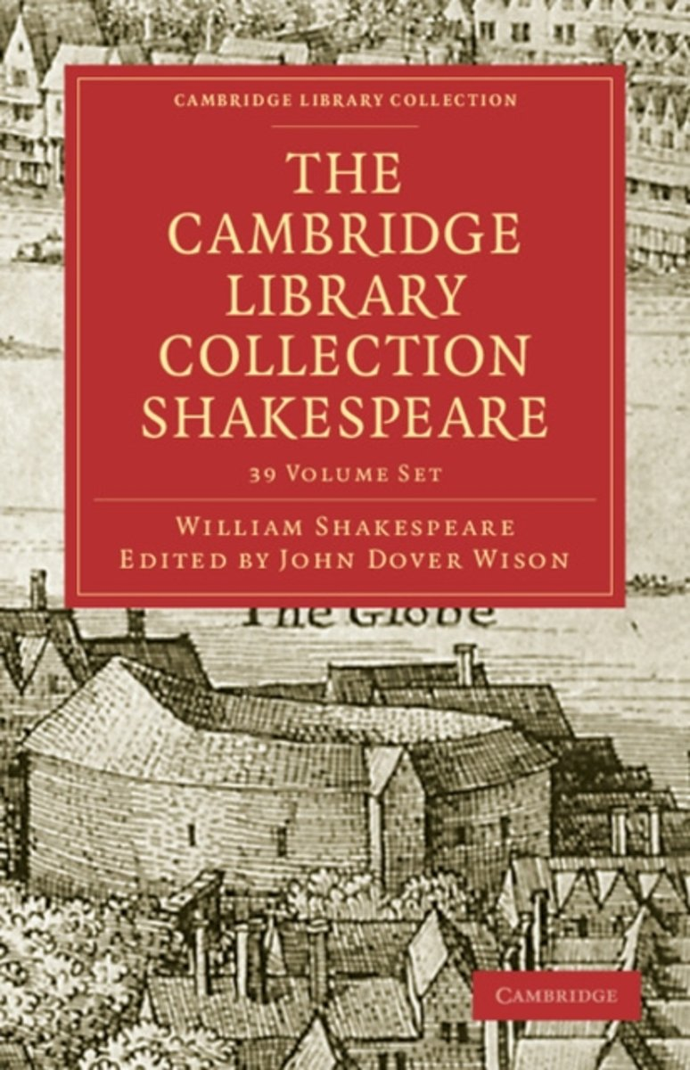 The Cambridge Library Collection Shakespeare Set 39 Volume Paperback Set