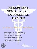 Hereditary Nonpolyposis Colorectal Cancer - a Bibliography and Dictionary for Physicians, Patients, and Genome Researchers