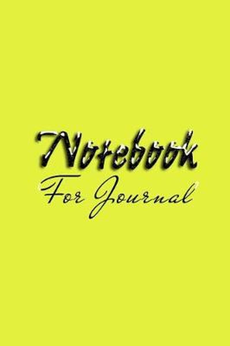 Notebook for Journal