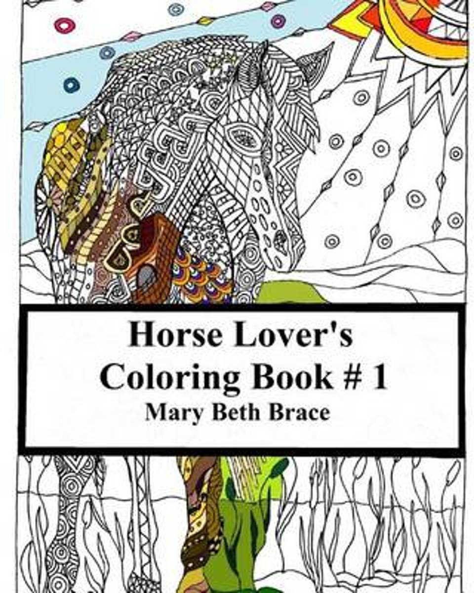 Horse Lover's Coloring Book 1