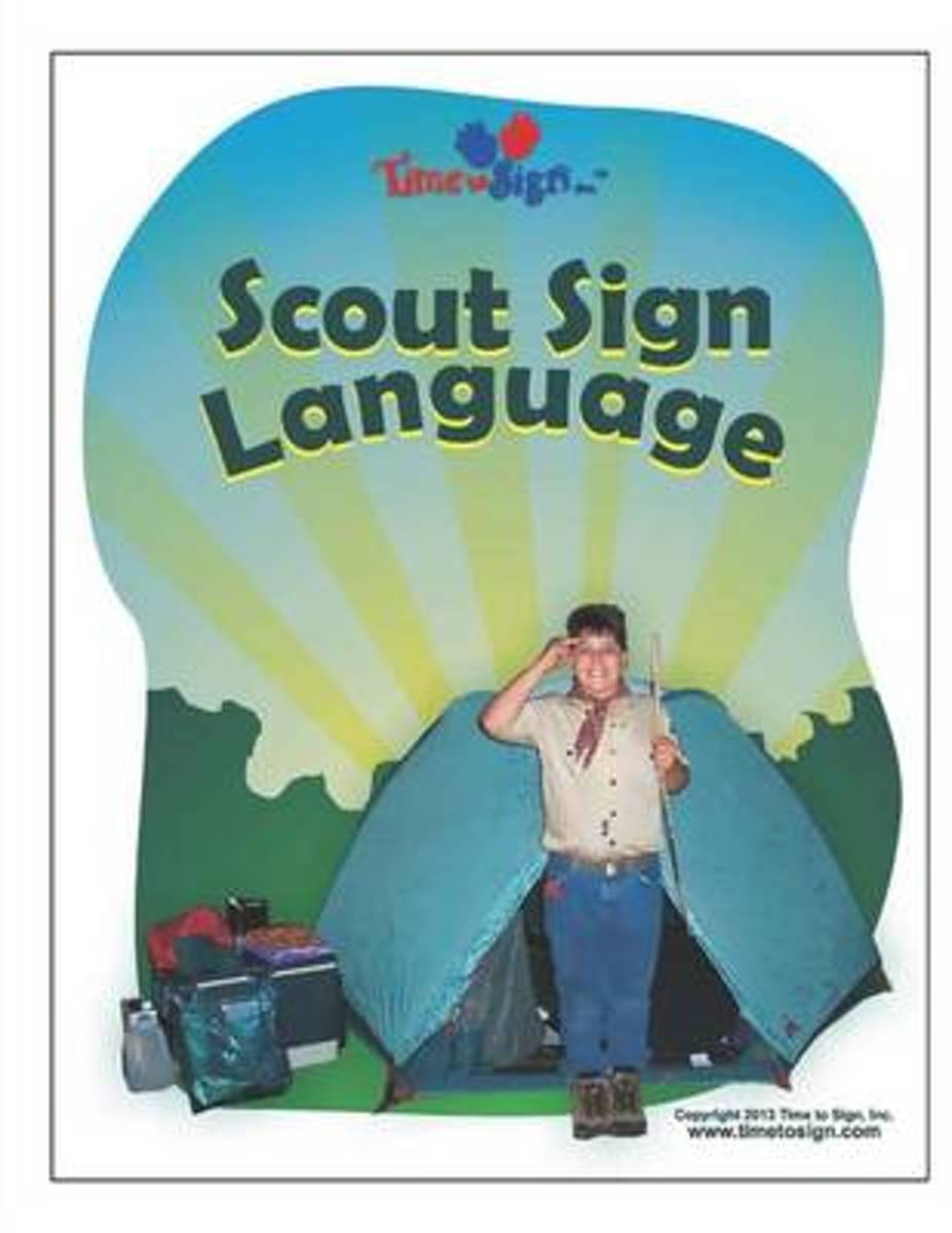 Scout Sign Language