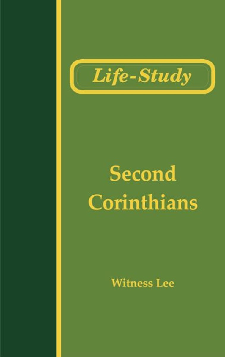Life-Study of Second Corinthians