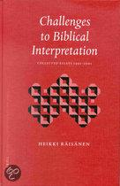 Challenges to Biblical Interpretation