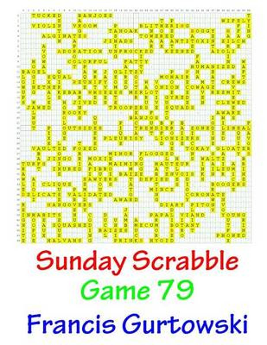 Sunday Scrabble Game 79