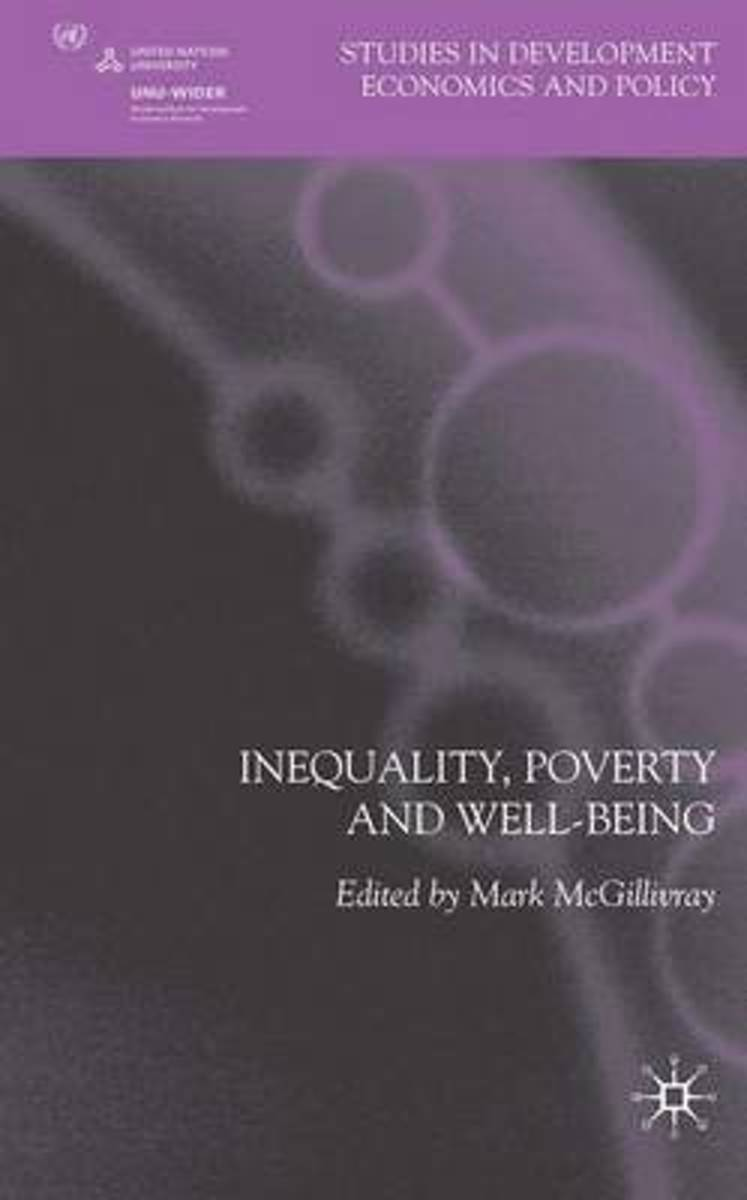 Inequality, Poverty and Well-being