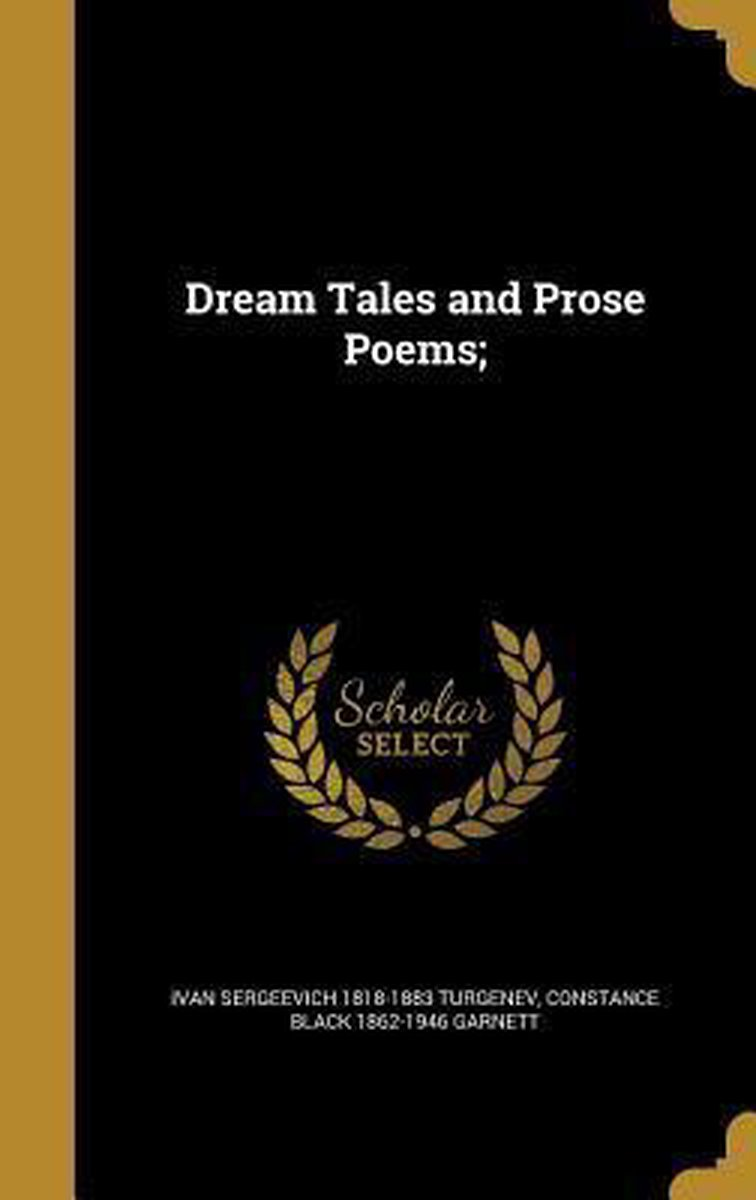 Dream Tales and Prose Poems;