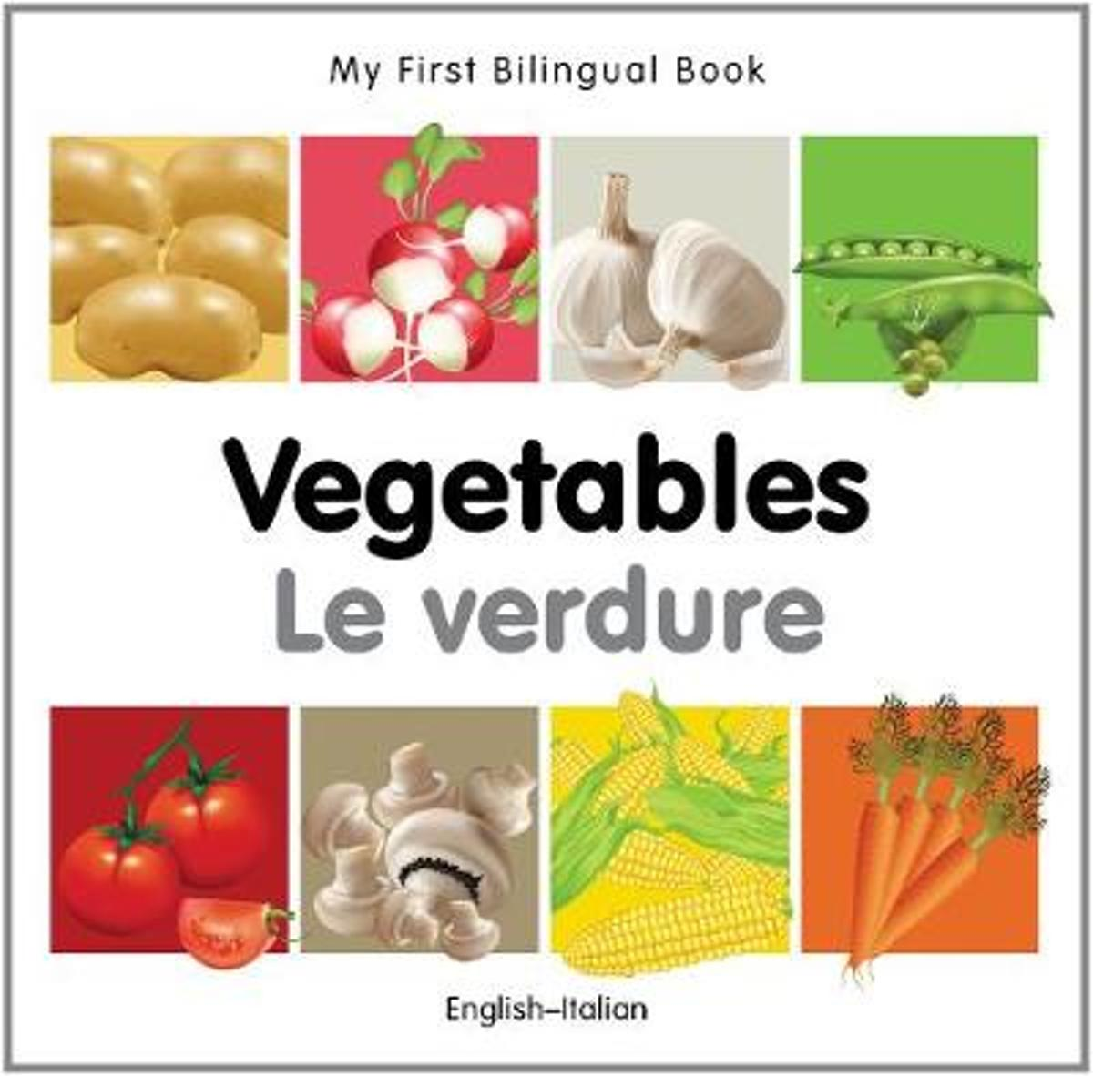 My First Bilingual Book - Vegetables - English-spanish