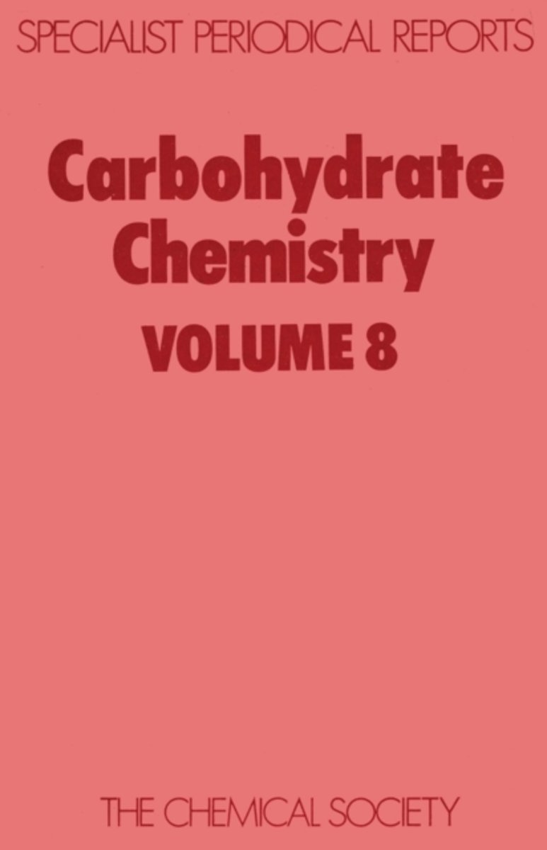 Carbohydrate Chemistry Volume 11