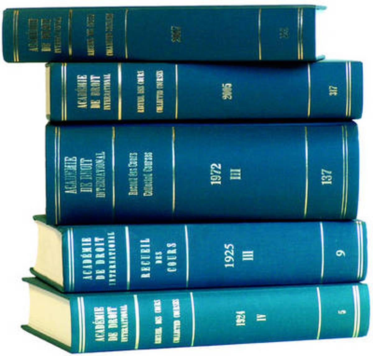 Recueil des cours, Collected Courses, Tome/Volume 81 (1952)