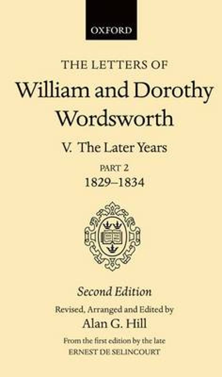 The Letters of William and Dorothy Wordsworth