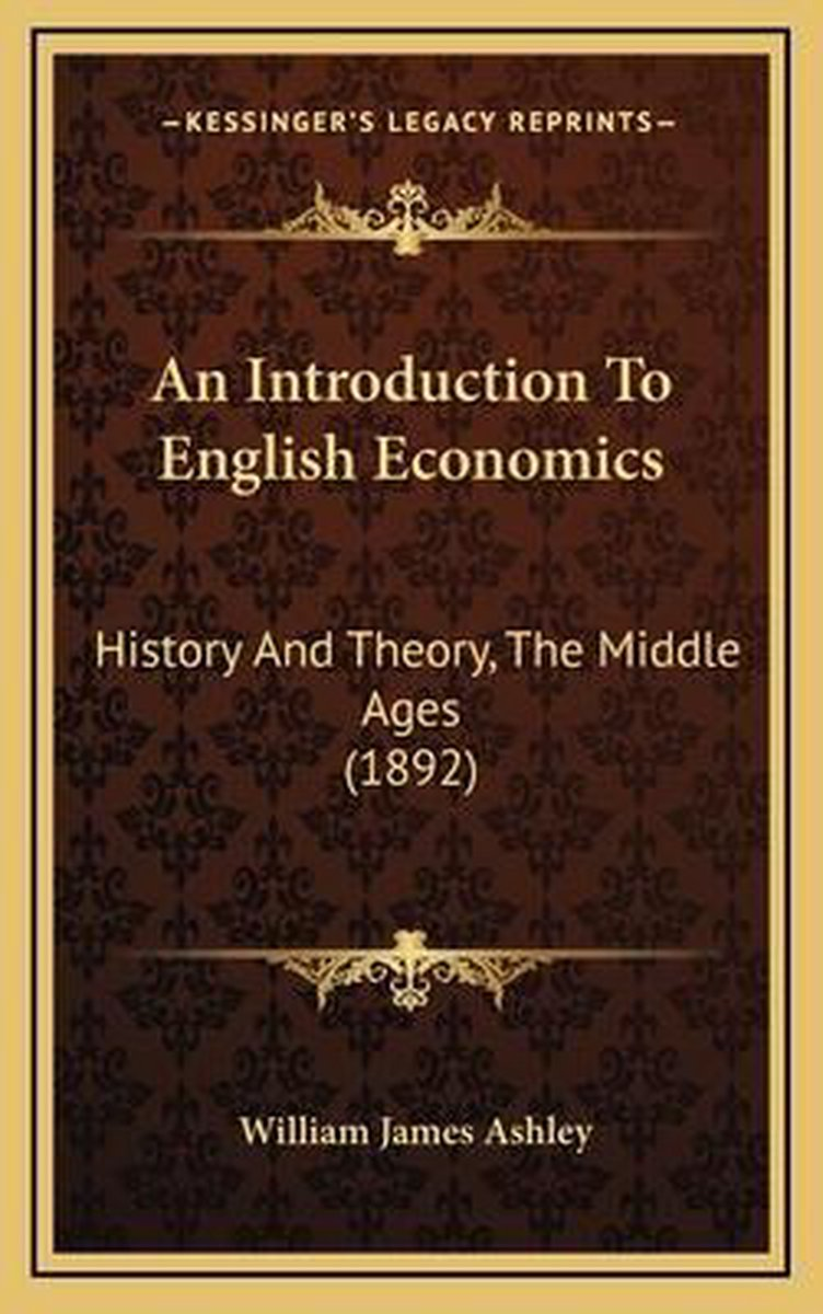An Introduction to English Economics