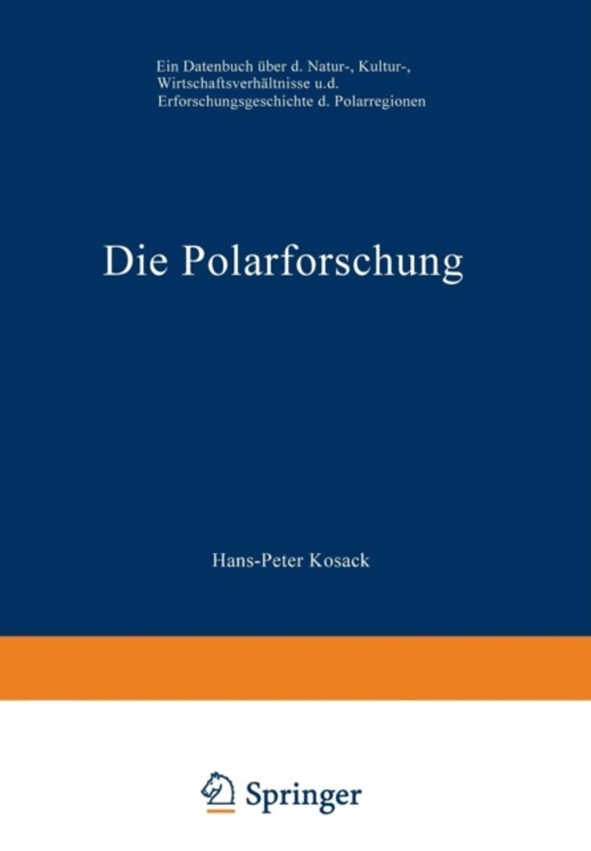 Die Polarforschung