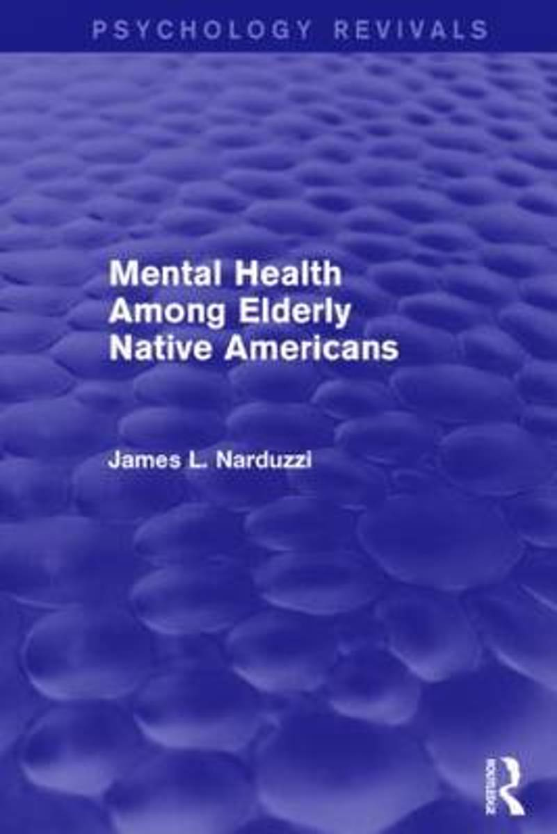 Mental Health Among Elderly Native Americans