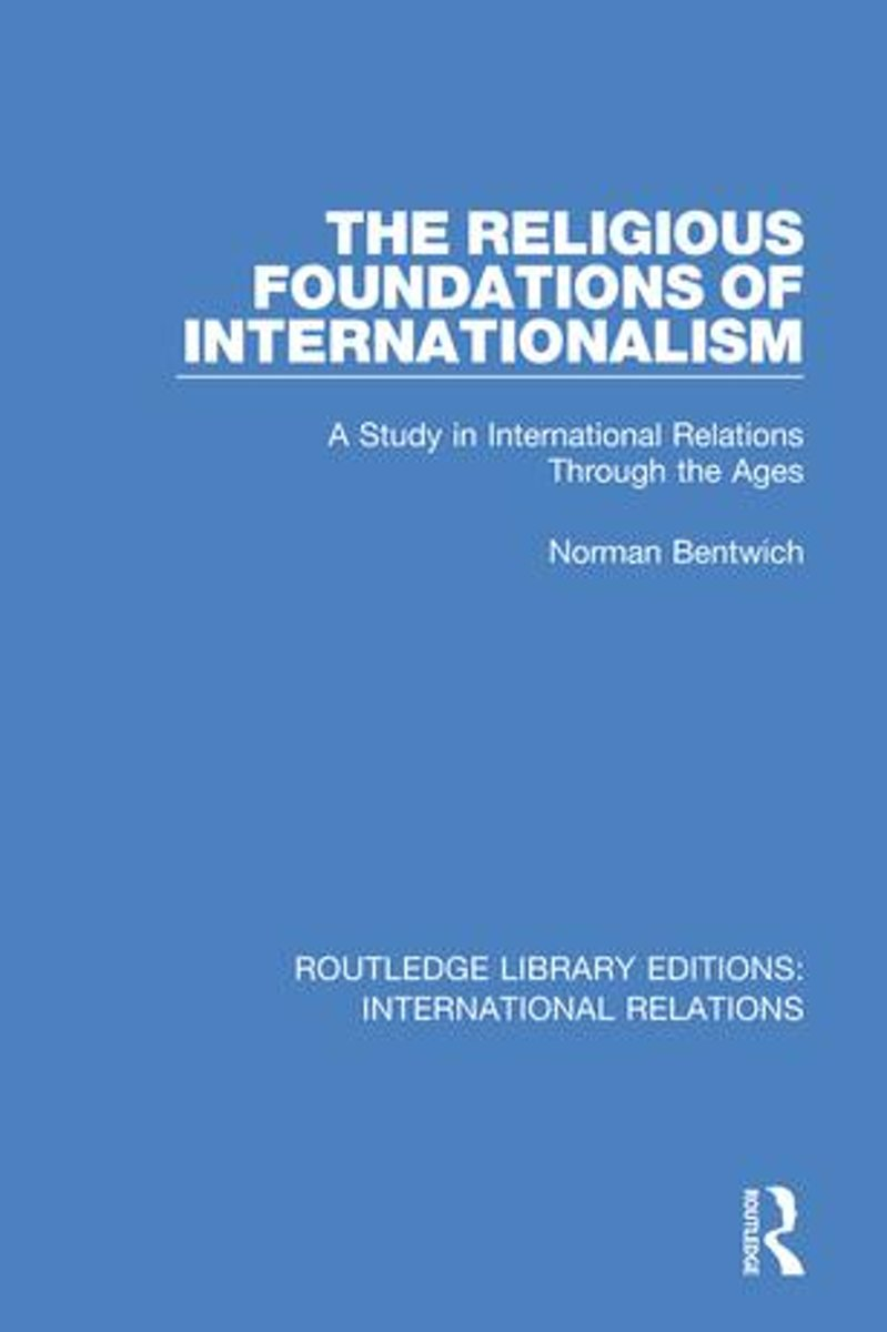 The Religious Foundations of Internationalism