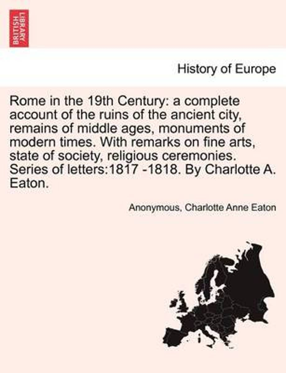 Rome in the 19th C.