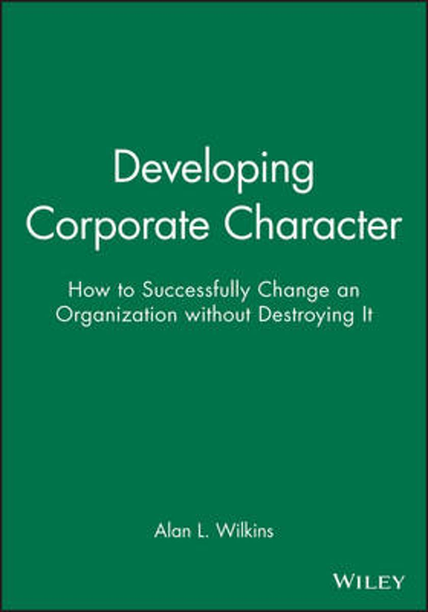 Developing Corporate Character