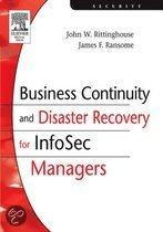 Business Continuity and Disaster Recovery for Infosec Managers