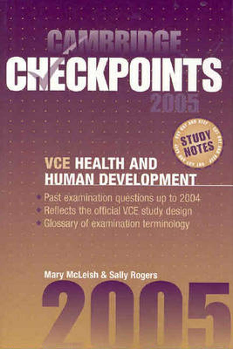 Cambridge Checkpoints VCE Health and Human Development 2005