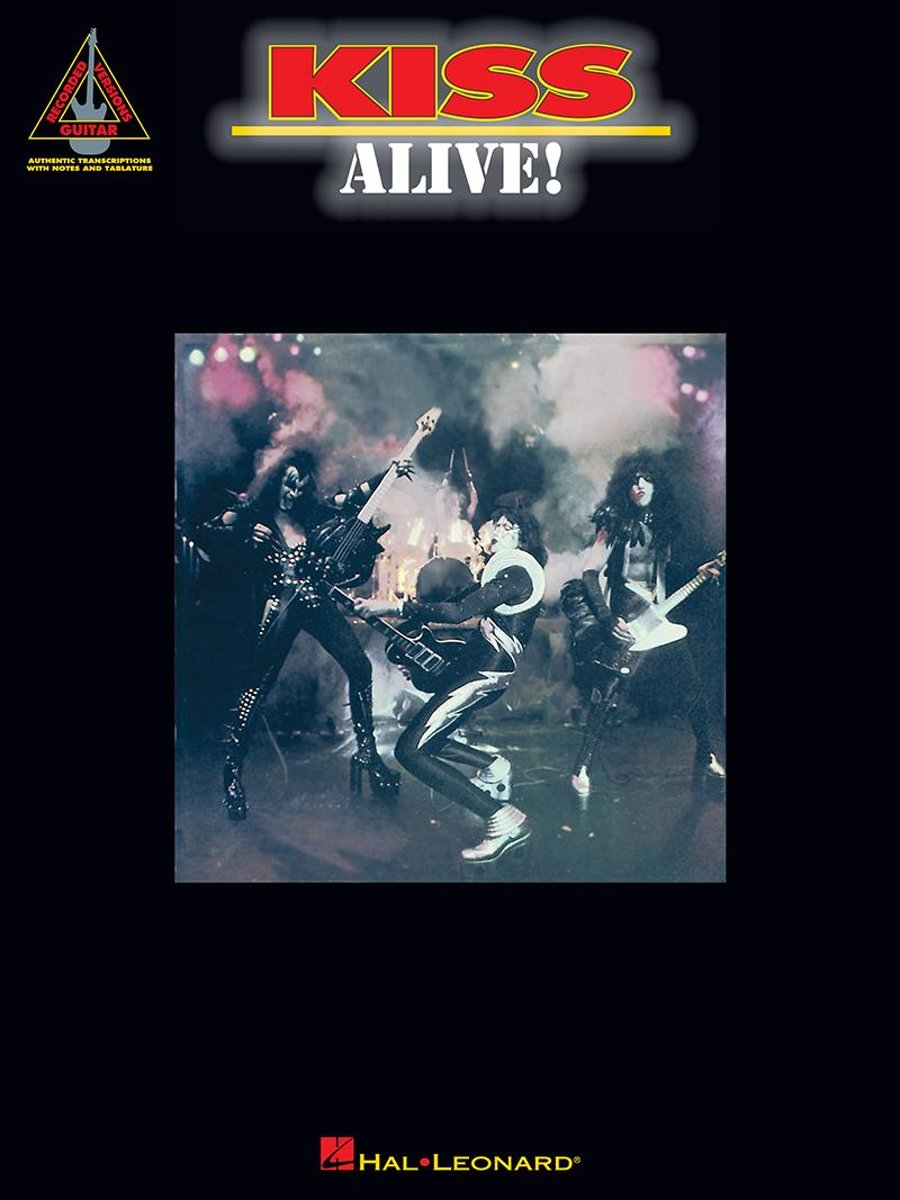 Kiss - Alive! (Songbook)