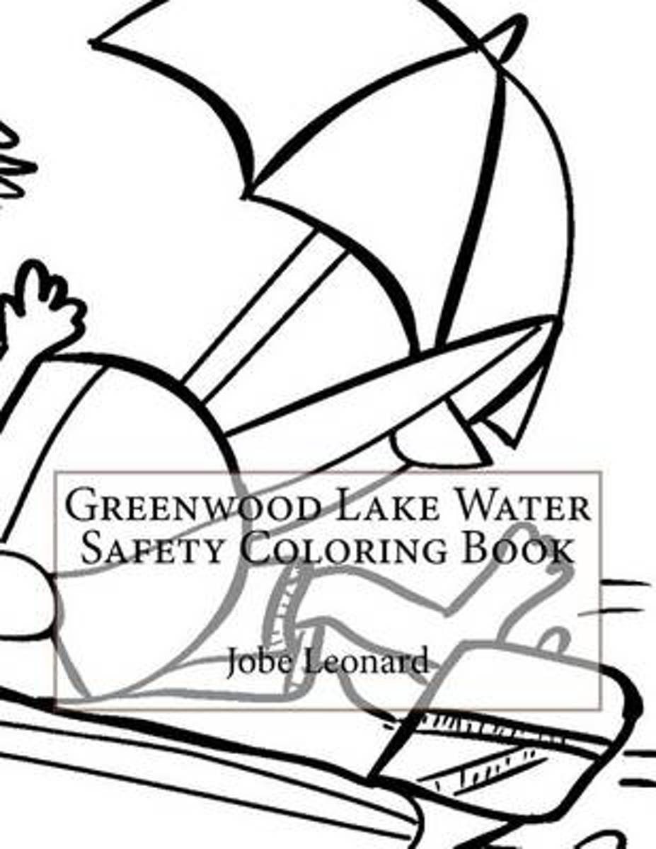 Greenwood Lake Water Safety Coloring Book
