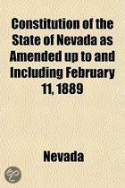 Constitution Of The State Of Nevada As A